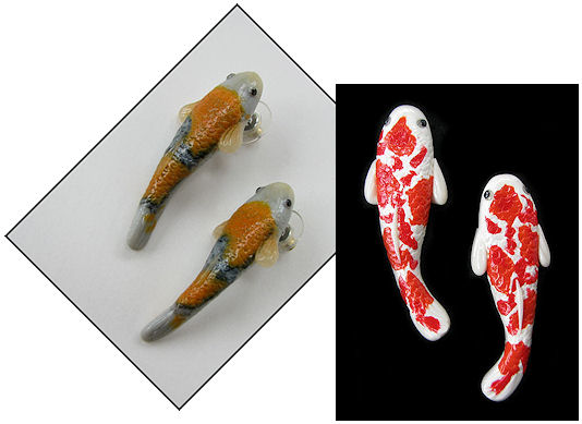 Unique Handcrafted Koi